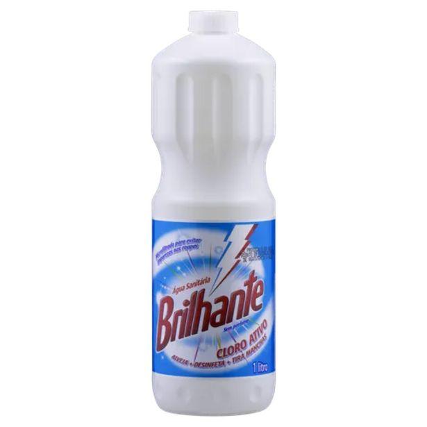 Oferta de Água sanitária Brilhante 1L por R$8,98