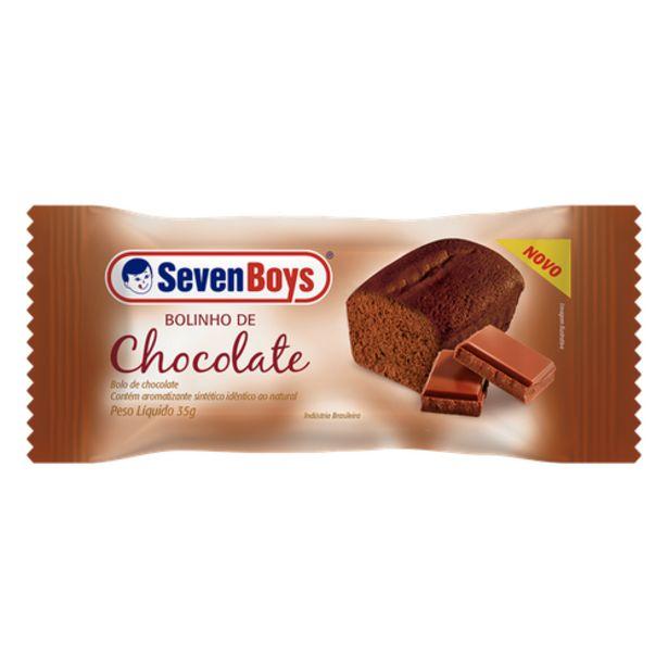 Oferta de Bolo Seven Boys chocolate 35g por R$0,79
