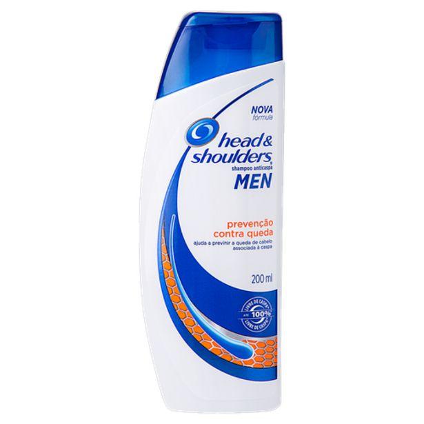 Oferta de Shampoo Head Shoulders Preveção de Quedas 200ml por R$19,98