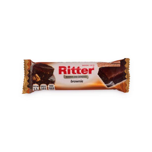 Oferta de Barra de cereal Ritter brownie 25g por R$1,69
