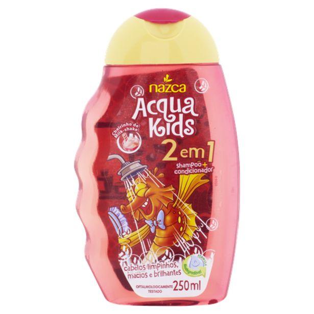 Oferta de Shampoo Infantil Acqua Kids Milk Shake 250ml por R$11,98