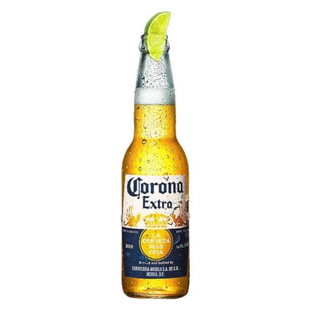 Oferta de Cerveja Corona extra 330ml por R$5,5