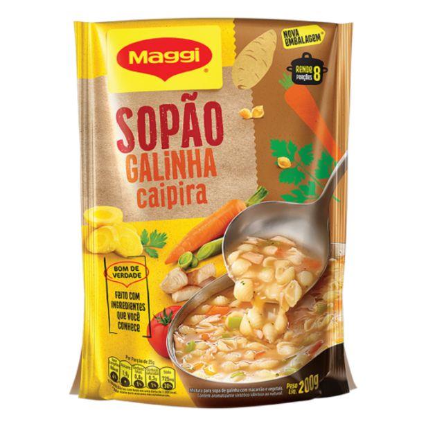 Oferta de Sopão Maggi galinha e legumes 200g por R$6,99