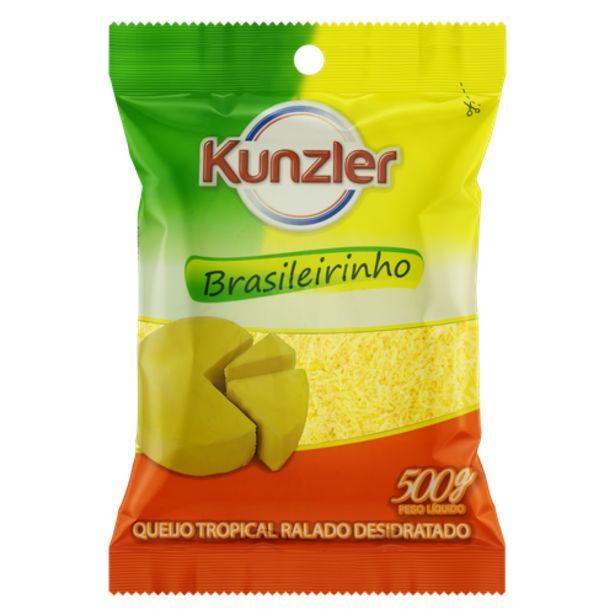 Oferta de Queijo ralado Kunzler brasileirinho 500g por R$45,9