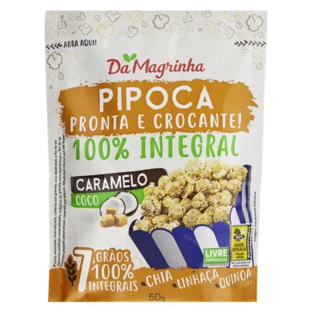 Oferta de Snack Popcorn granola e coco 50g por R$7,49