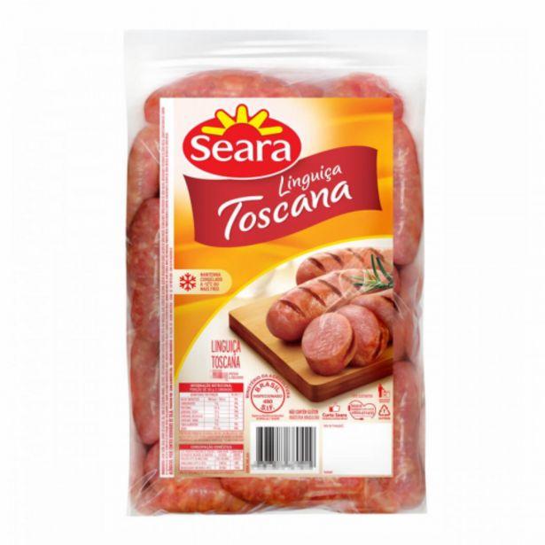 Oferta de Linguiça Seara toscana pacote 600g por R$14,98