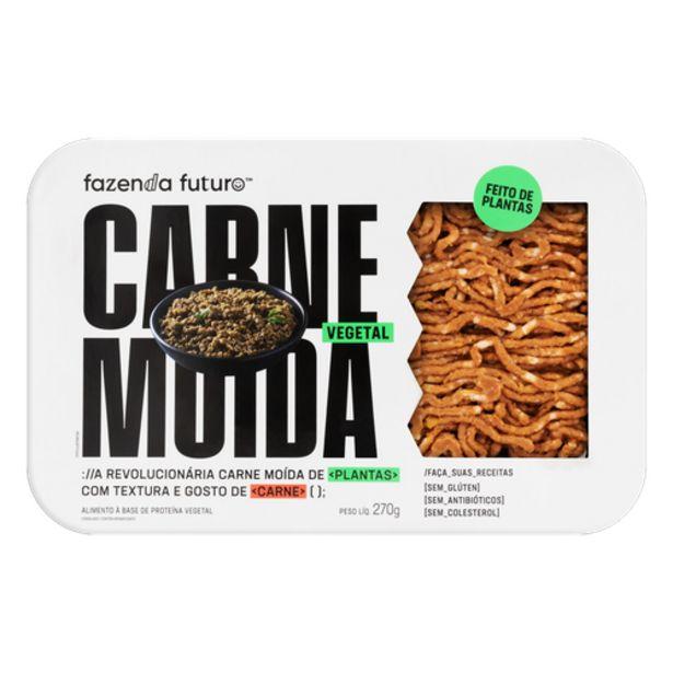 Oferta de Carne moída vegetal Fazenda Futuro sem glúten 270g por R$17,9