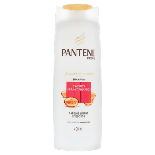 Oferta de Shampoo Pantene Cachos 400ml por R$18,98