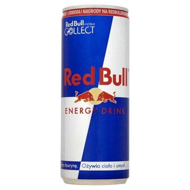 Oferta de Energético Red Bull original 250ml por R$7,29