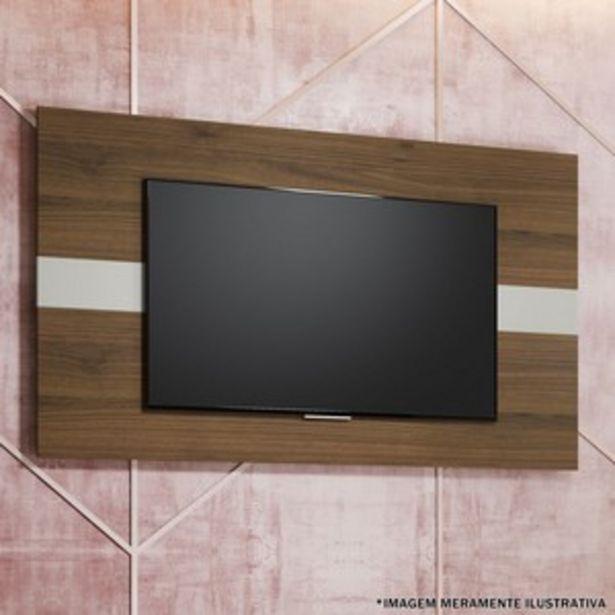 Oferta de PAINEL FRANÇA P/ TV ATÉ 55'' - 160X90CM ./OFF WHI./NOGUEIRA por R$269