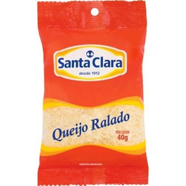 Oferta de Queijo Ralado Santa Clara 40G por R$3,69