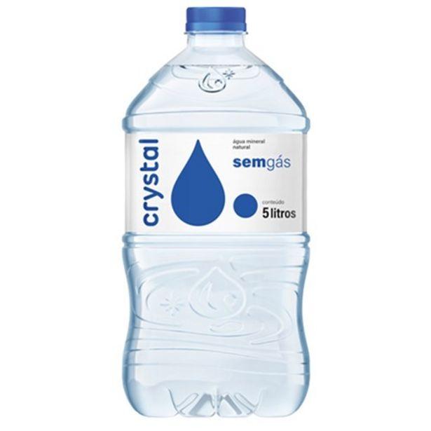Oferta de Água Mineral sem Gás Crystal 5L por R$4,91