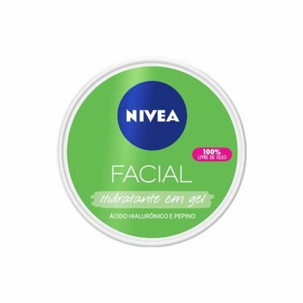 Oferta de Creme Facial Nivea Acido Hialurônico Pepino 100Ml por R$19,9