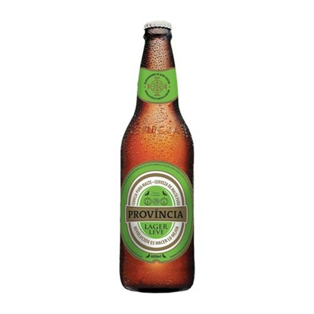 Oferta de Cerveja Província Puro Malte Lager Leve 600Ml por R$3,99