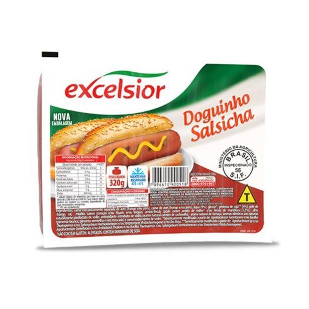 Oferta de Salsicha Excelsior Doguinho Embalagem 320G por R$7,39