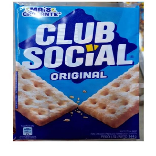 Oferta de Biscoito Salgado Club Social Original Pacote 144G por R$2,99
