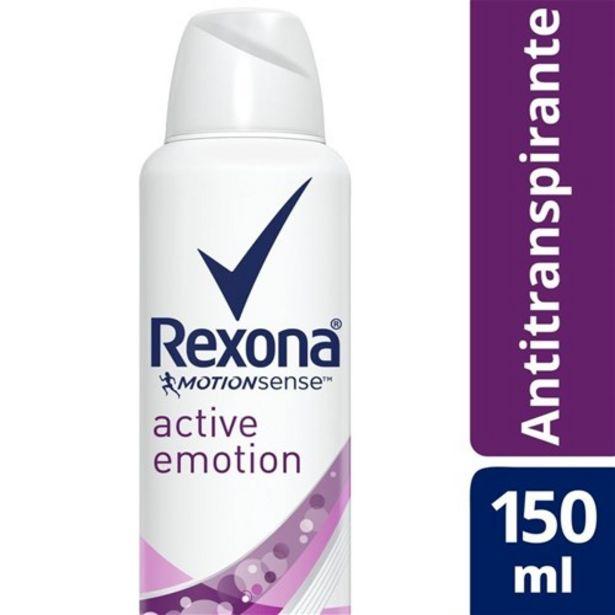 Oferta de Desodorante Antitranspirante Rexona Active Emotion 150Ml por R$12,99