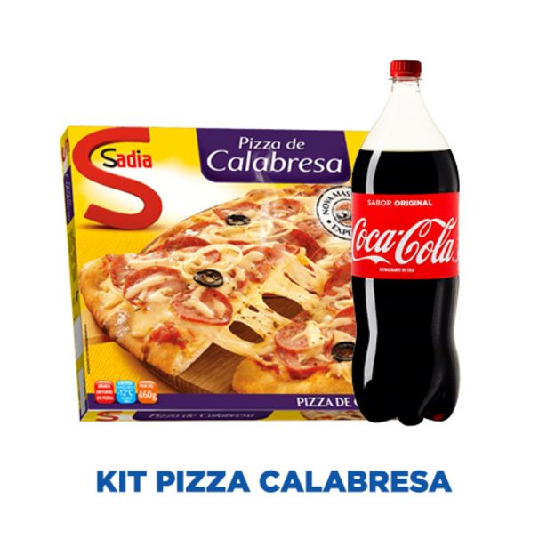Oferta de KIT PIZZA CALABRESA por R$24,98