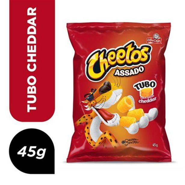 Oferta de Salgadinho Cheetos Tubo Cheddar 45G por R$2,79