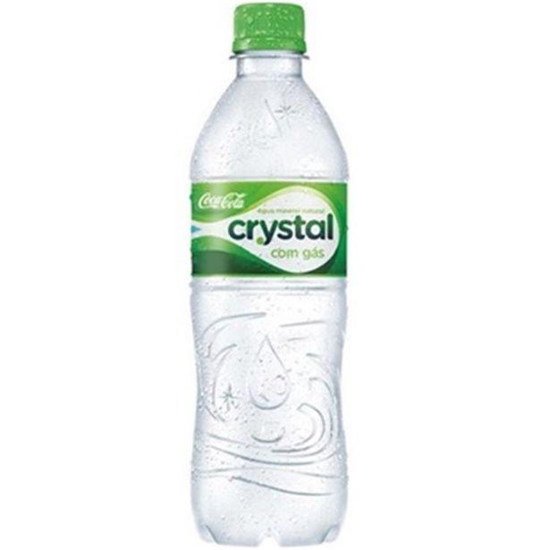 Oferta de Água Mineral com Gás Crystal 500Ml por R$1,19