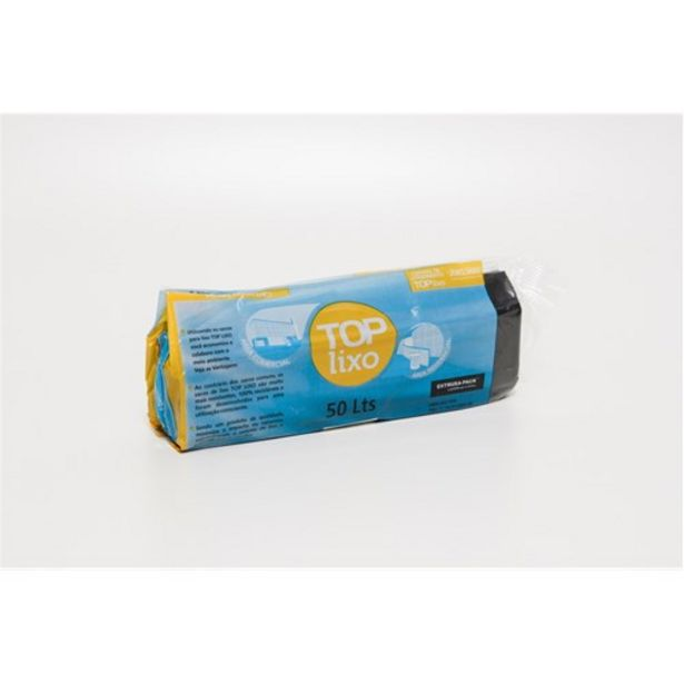 Oferta de Saco de Lixo Top Lixo 50L Extrusa-Pack Rolo 30 Un por R$16,9