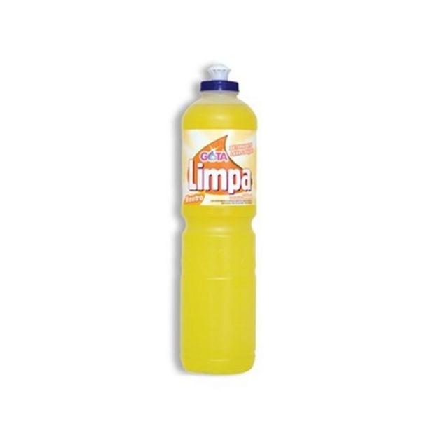 Oferta de Detergente Gota Limpa Neutro 500Ml por R$1,59