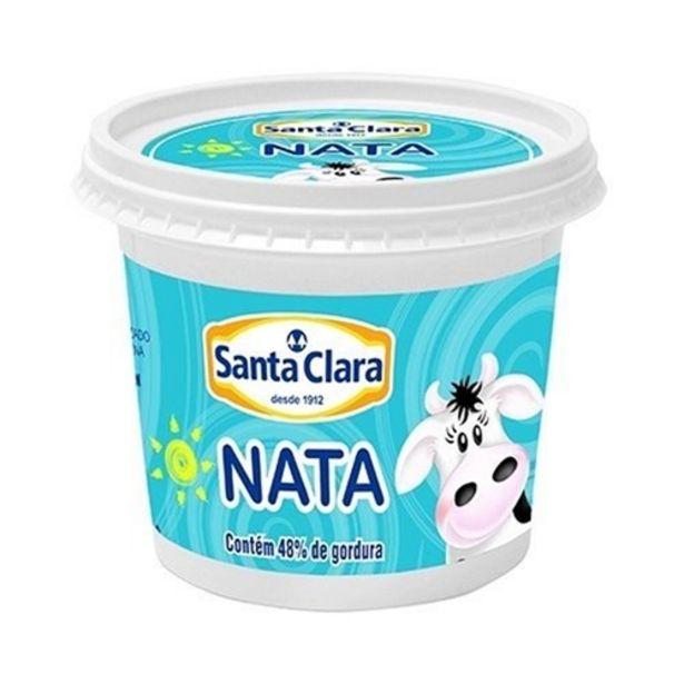 Oferta de Nata Santa Clara Pote 350G por R$5,99