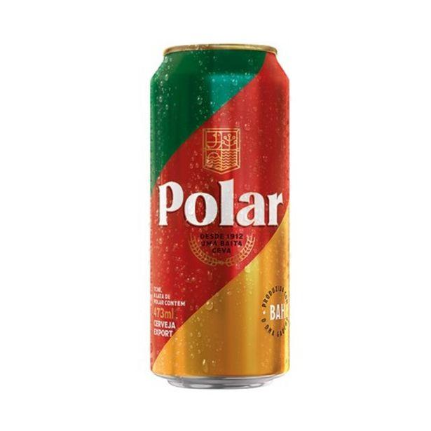 Oferta de Cerveja Polar Export 473Ml por R$3,39