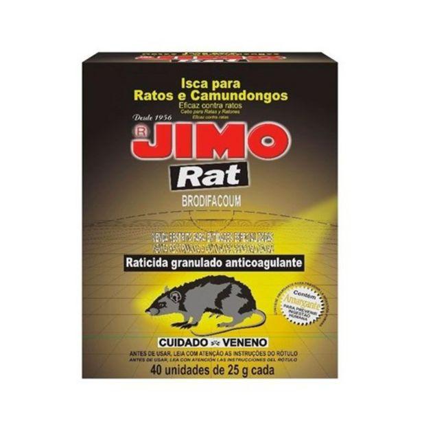 Oferta de Raticida Jimo Tubo 25G por R$1,59