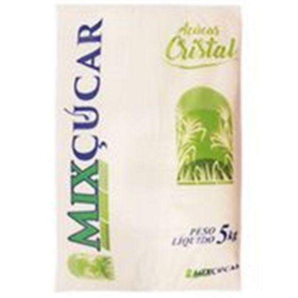 Oferta de Açúcar Cristal Mixçúcar Embalagem 5Kg por R$14,49