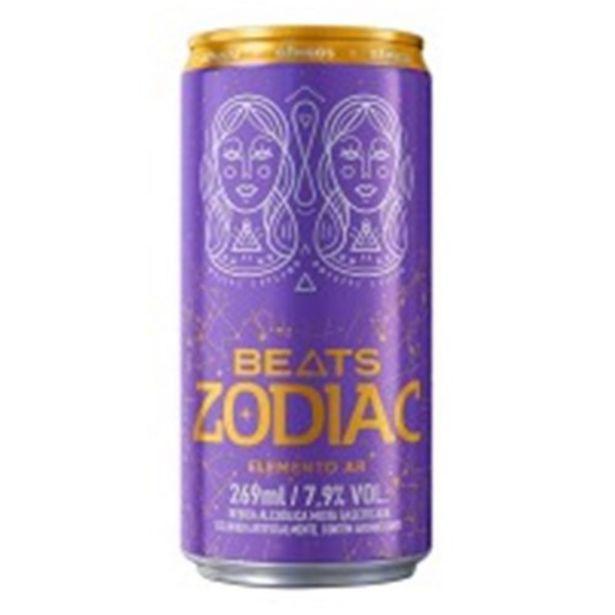 Oferta de Bebida Ice Skol Beats Elemento Ar Zodiac Lata 269Ml por R$3,99