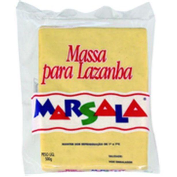 Oferta de Massa para Lasanha Marsala Embalagem 500G por R$7,49