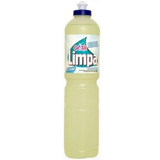Oferta de Detergente Gota Limpa Cristal 500Ml por R$1,59