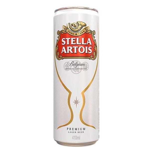 Oferta de Cerveja Stella Artois 410Ml por R$3,79