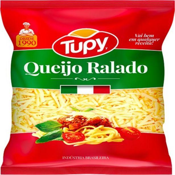 Oferta de Queijo Ralado Tupy 50G por R$3,55