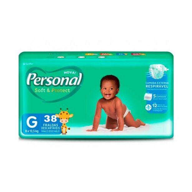 Oferta de Fralda D.personal Soft & Protect Grande C/38un por R$28,99