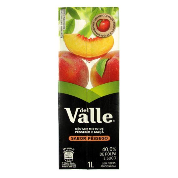 Oferta de Suco De Pêssego Del Valle 1l por R$5,79