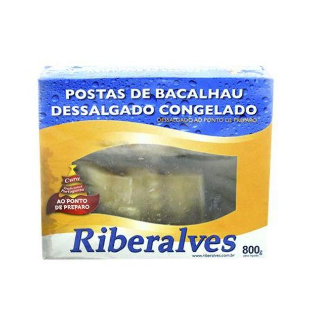 Oferta de Bacalhau Riberalves Postas 800g por R$59,99