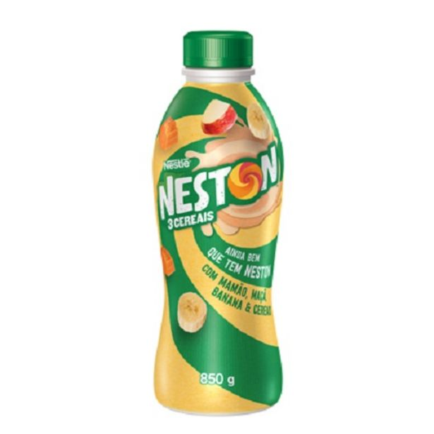 Oferta de Iogurte Neston 850g Maca/banana por R$7,99