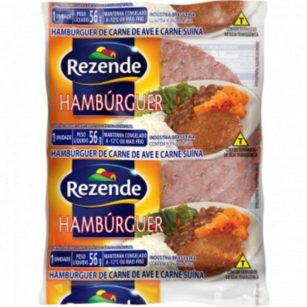 Oferta de Hambúrguer Rezende Misto 56g por R$0,89