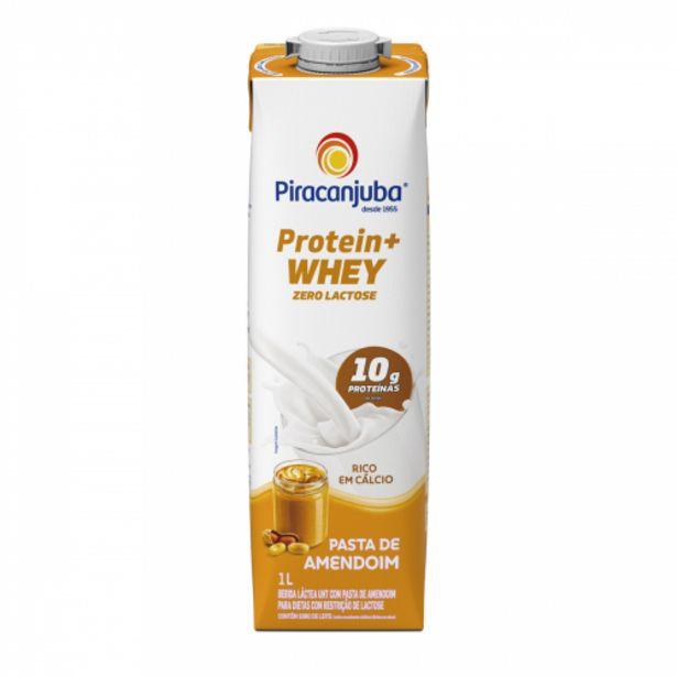 Oferta de Bebida Lactea Piracanjuba 1lt Pro+ Whey Zl Amend. por R$5,49