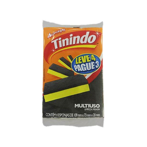 Oferta de Esponja Tinindo Lv4/pg3 por R$3,29