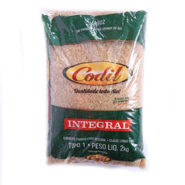 Oferta de Arroz Codil Integral 2kg por R$10,99