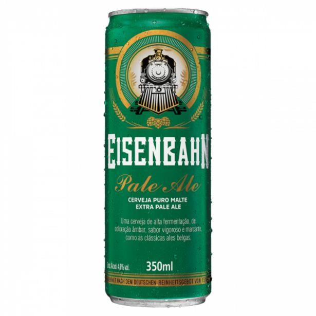 Oferta de Cerveja Eisenbahn 350ml Pale Ale por R$3,79