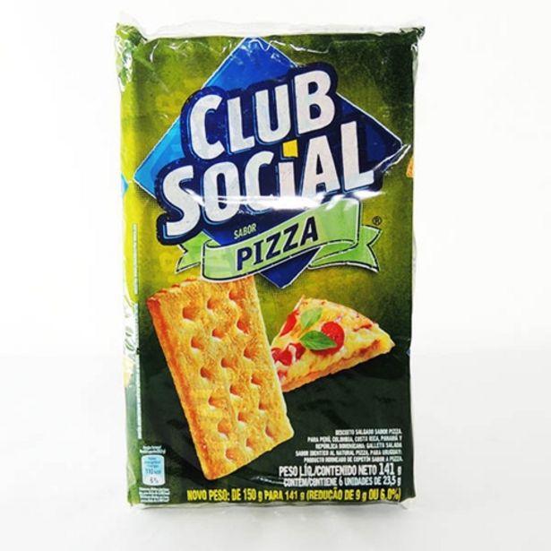 Oferta de Biscoito Club Social Pizza 141g por R$3,29