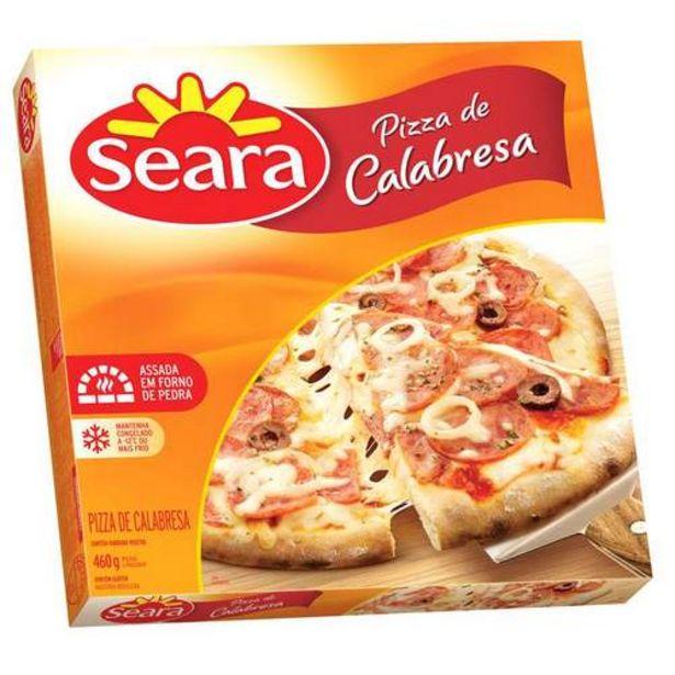 Oferta de Pizza Seara 460gr Calabresa por R$10,9
