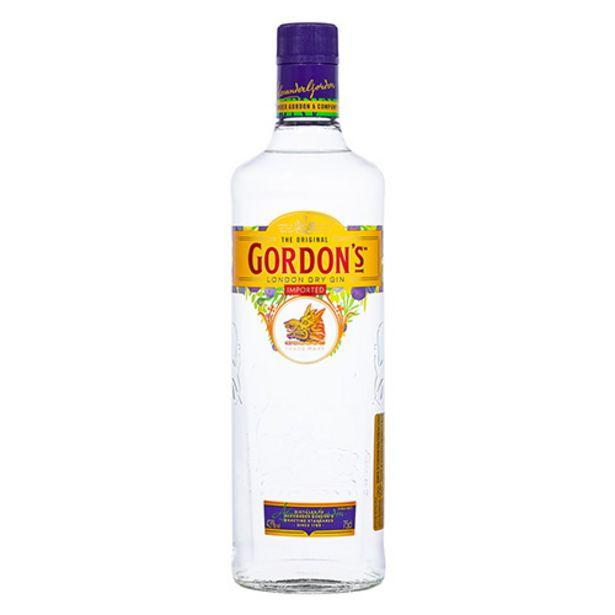 Oferta de Gin Gordons - 750ml por R$69,9