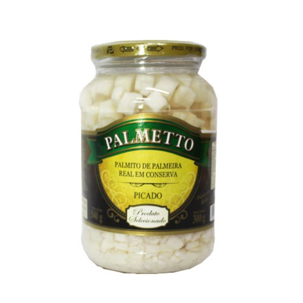 Oferta de Palmito Palmetto 300g Real Picado por R$7,49