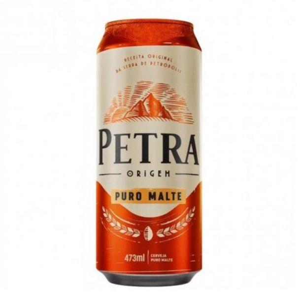 Oferta de Cerveja Petra 473ml Puro Malte por R$3,49