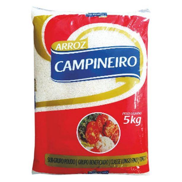 Oferta de Arroz Campineiro 5kg por R$14,99